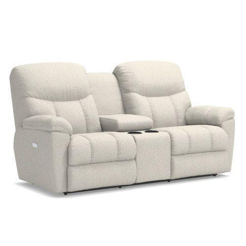 Morrison Power Reclining Loveseat w/ Headrest & Console