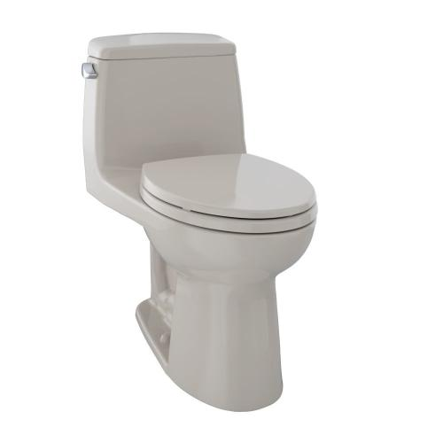 Eco UltraMax® One-Piece Toilet, 1.28 GPF, ADA Compliant, Elongated Bowl - Bone