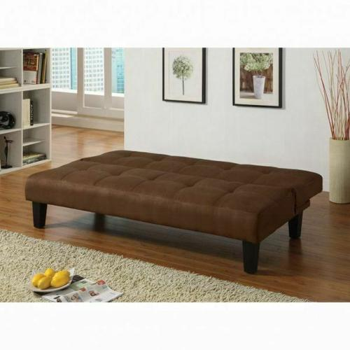 ACME Emmet Adjustable Sofa - 05674 - Chocolate Microfiber