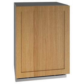 """24"""" Dual-zone Beverage Center With Integrated Solid Finish and Field Reversible Door Swing (115 V/60 Hz Volts /60 Hz Hz)"""
