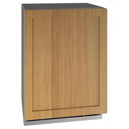 "24"" Dual-zone Beverage Center With Integrated Solid Finish and Field Reversible Door Swing (115 V/60 Hz Volts /60 Hz Hz)"