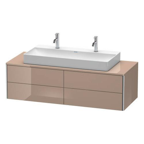 Duravit - Vanity Unit For Console Wall-mounted, Cappuccino High Gloss (lacquer)