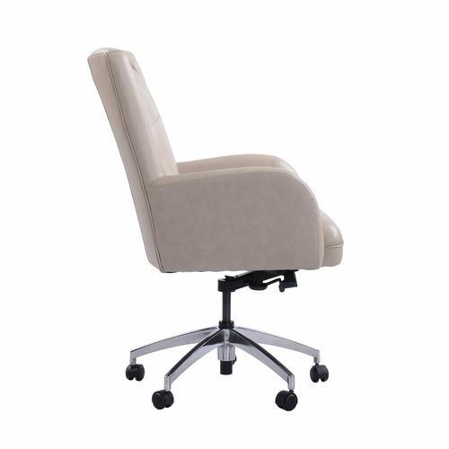DC#130 Verona Linen - DESK CHAIR Leather Desk Chair