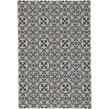"""Finesse-Tile Navy - Rectangle - 3'11"""" x 5'6"""""""