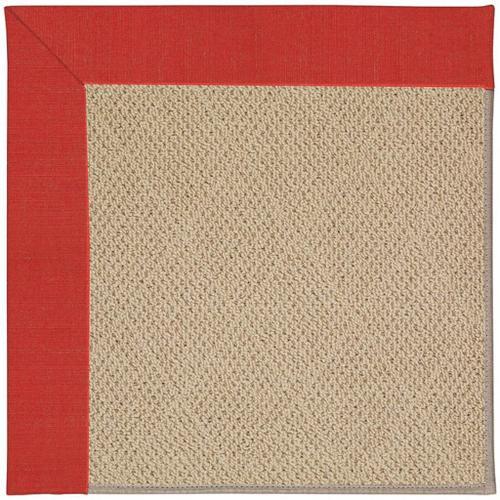 """Creative Concepts-Cane Wicker Dupione Crimson - Rectangle - 24"""" x 36"""""""
