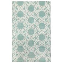 Oxford Seafoam Ivory Hand Knotted Rugs