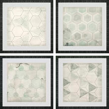 Hexagon Tiles S/4