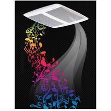Sensonic Speaker Fan 110 CFM 1.0 Sones with Bluetooth® Wireless Technology