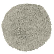 New Flokati Light Grey 8 Ft Round