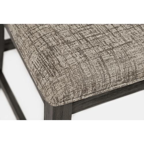 Altamonte Ladderback Counter Stool - Brushed Grey