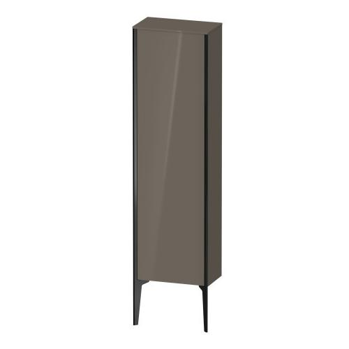 Semi-tall Cabinet Floorstanding, Flannel Gray High Gloss (lacquer)
