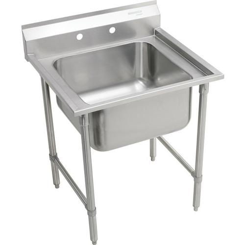 """Product Image - Elkay Rigidbilt Stainless Steel 33"""" x 29-3/4"""" x 12-3/4"""", Floor Mount, Single Compartment Scullery Sink"""