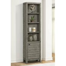 See Details - TEMPE - GREY STONE 22 in. Open Top Bookcase