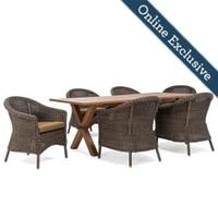 Cumberland 7pc Dining (6 chairs, 1 Table) Product Image