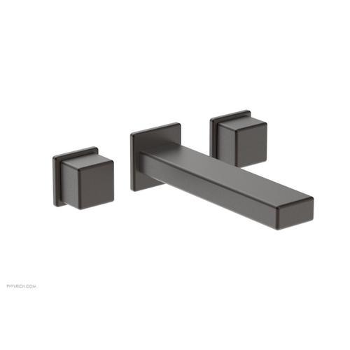 MIX Wall Lavatory Set - Cube Handles 290-14 - Oil Rubbed Bronze