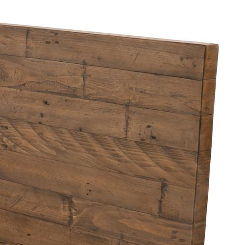 Four Hands - Queen Size Rustic Sandalwood Finish Wyeth Bed