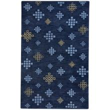 "Glace Crystal Blue Maize - Rectangle - 3'3"" x 5'3"""
