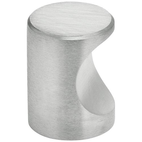 Modern Cabinet Knob - Solid Brass in (US26D Satin Chrome Plated)