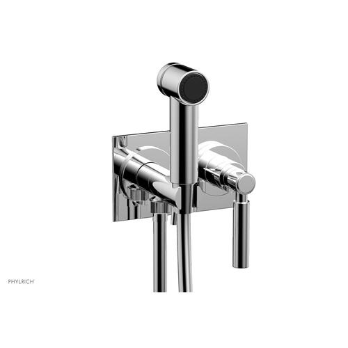 BASIC Wall Mounted Bidet, Lever Handle 130-65 - Polished Chrome