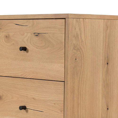 Eaton 5 Drawer Dresser-light Oak