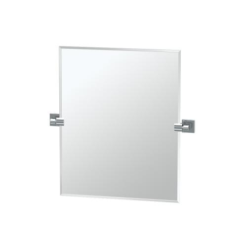 Elevate Rectangle Mirror in Chrome