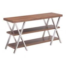 Renmen Entertainment Stand Walnut
