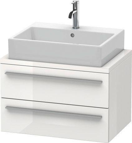 Duravit - Vanity Unit For Console Compact, White High Gloss (lacquer)