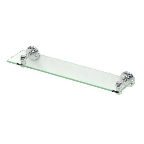Cafe Glass Shelf in Chrome