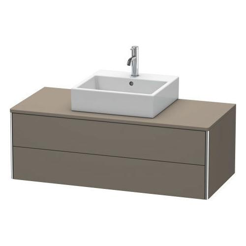 Vanity Unit For Console Wall-mounted, Flannel Gray Satin Matte (lacquer)