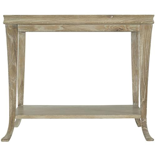 Rustic Patina End Table in Sand (387)