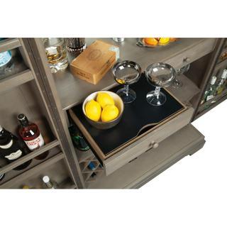 See Details - Howard Miller Passport Wine and Bar Cabinet 695262