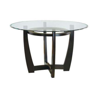 See Details - Bloomfield Cappuccino Round Dining Table Base