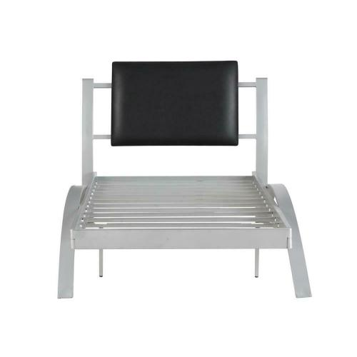 Coaster - Leclair Contemporary Black and Silver Youth Twin Bed