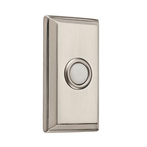 Satin Nickel BR7015 Rectangular Bell Button