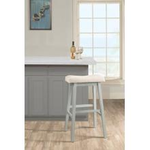 Moreno Backless Bar Stool - Blue Gray