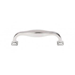 Contour Pull 3 3/4 Inch (c-c) - Polished Nickel