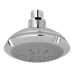 """Polished Chrome 4 1/2"""" Ocean4 4-Function Showerhead Product Image"""
