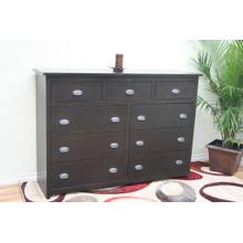 A-R453 Rustic Alder 9 Drawer Mule Chest