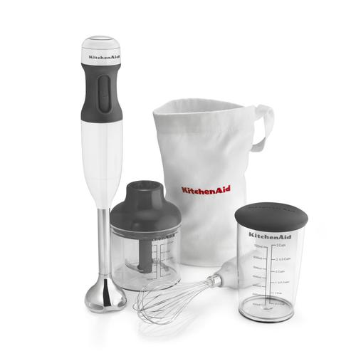 3-Speed Hand Blender White