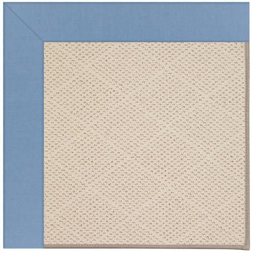 Creative Concepts-White Wicker Canvas Air Blue Machine Tufted Rugs