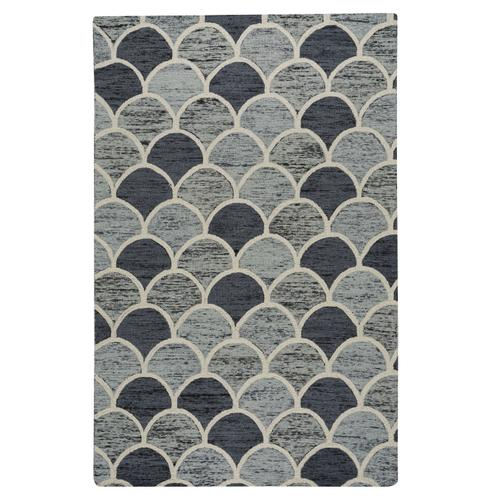 Brass Belly Storm Hand Tufted Rugs