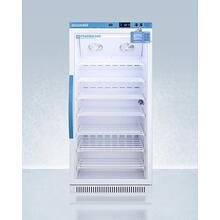 Performance Series Pharma-vac 8 CU.FT. Upright Glass Door All-refrigerator for Vaccine Storage With Factory-installed Data Logger, Antimicrobial Silver-ion Handle, and A Hospital Grade Cord With 'green Dot' Plug