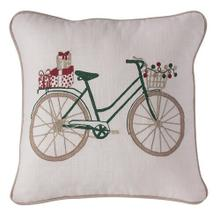 Bike with Gifts Pillow