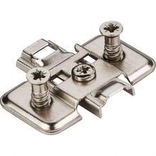 See Details - Standard Duty 0 mm Cam Adj Steel Plate with Euro Screws for 500 Series Euro Hinges