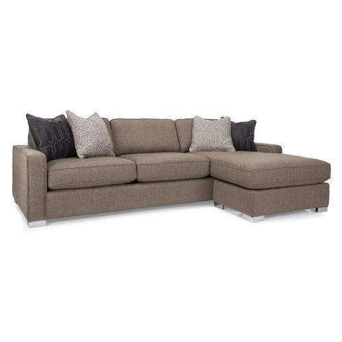 2591 Sofa 102in with Chaise