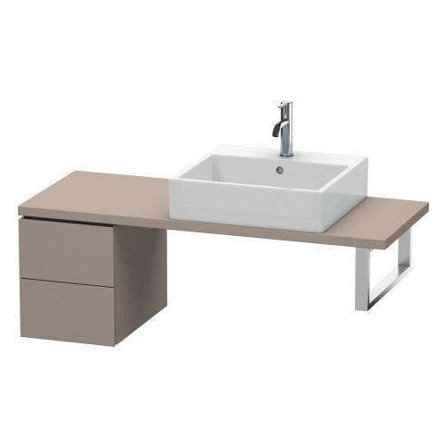 Duravit - Low Cabinet For Console Compact, Basalt Matte (decor)