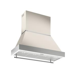 48 Wallmount Canopy and Base Hood, 1 motor 600 CFM Avorio - AVORIO
