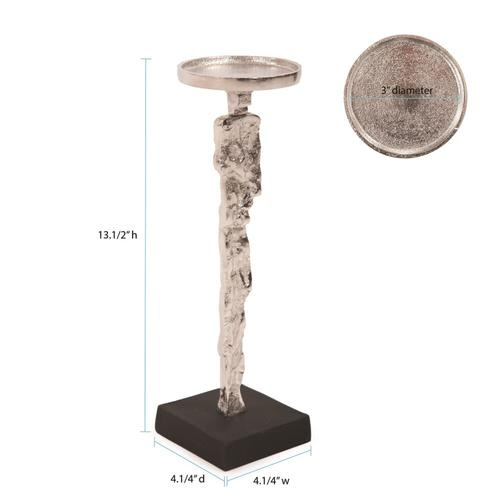 Howard Elliott - Abstract Figure Candle Holder Short