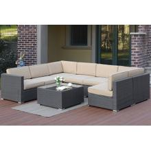 8-pcs Sectional Set
