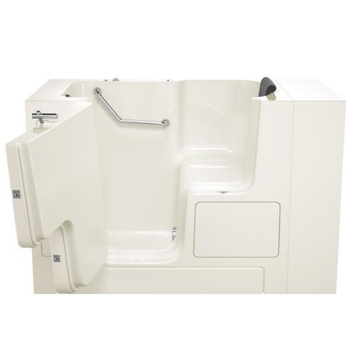 Premium Series 32x52-inch Walk-In Soaking Tub with Outswing Door  American Standard - Linen